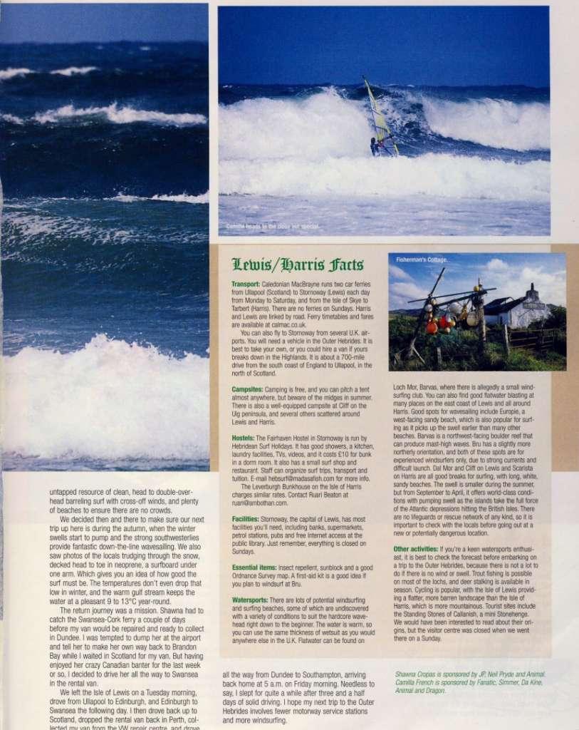 Bio - Shawna Cropas: Aloha Windsurfing Clinics